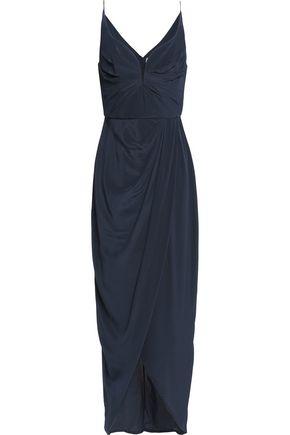 ZIMMERMANN Wrap-effect silk crepe de chine maxi dress