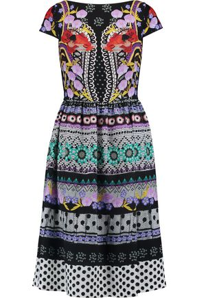 TEMPERLEY LONDON Marley printed crepe dress