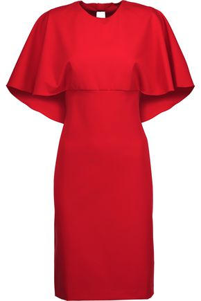 MIKAEL AGHAL Layered crepe dress