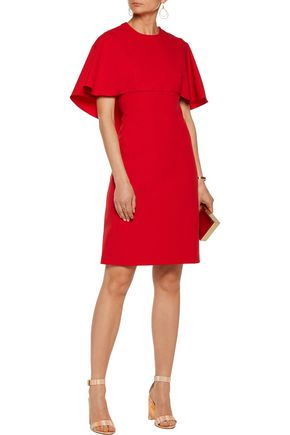 MIKAEL AGHAL Layered crepe dress