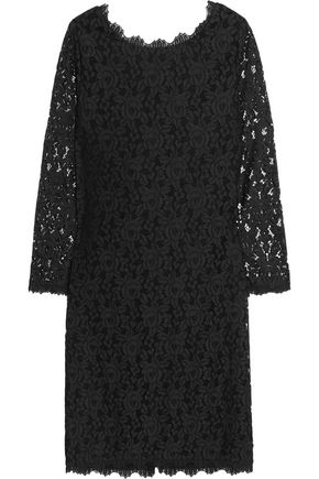 DIANE VON FURSTENBERG Colleen lace mini dress