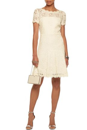 DIANE VON FURSTENBERG Fifi corded lace mini dress