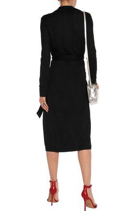 DIANE VON FURSTENBERG Cybil stretch-twill wrap dress
