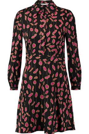 DIANE VON FURSTENBERG Chrissie printed silk-blend mini dress