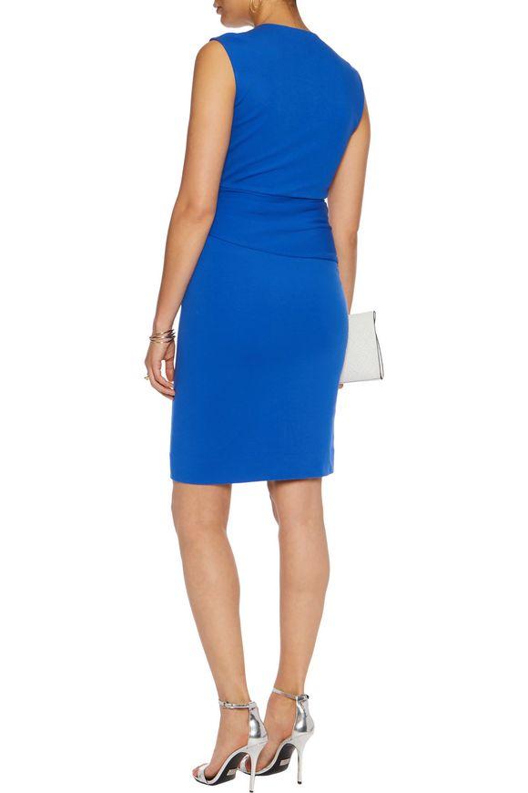 Leora wrap-effect stretch-crepe dress | DIANE VON FURSTENBERG | Sale up to  70% off | THE OUTNET