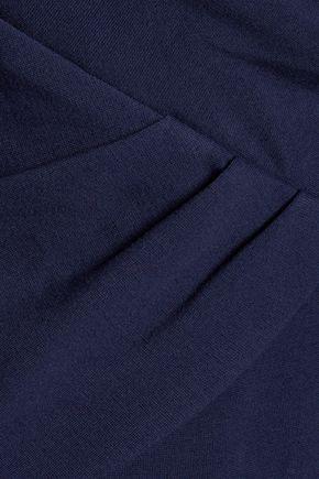 DIANE VON FURSTENBERG Leora gathered stretch-jersey dress