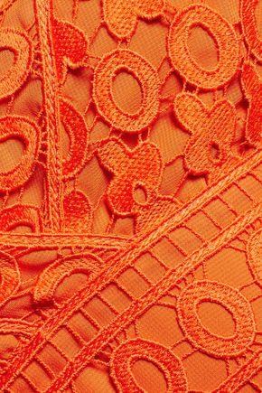 DIANE VON FURSTENBERG Tiana guipure lace dress
