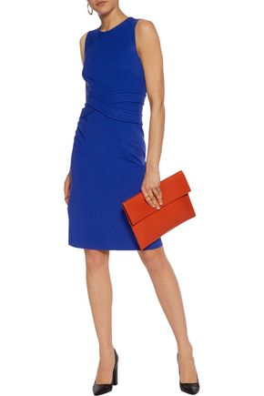 DIANE VON FURSTENBERG Evita paneled stretch-jersey dress