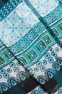 DIANE VON FURSTENBERG Tie-front printed silk-georgette dress