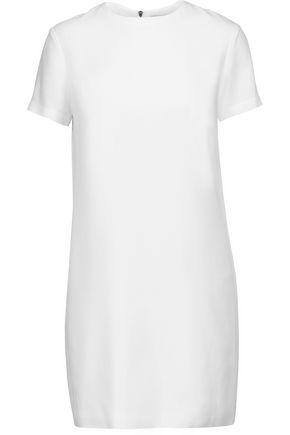 HELMUT LANG Crepe de chine mini dress