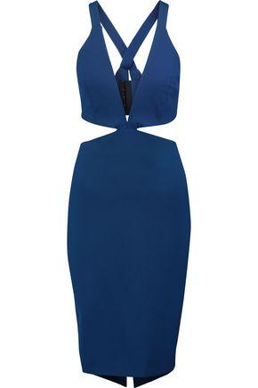 MICHELLE MASON Cutout cady dress