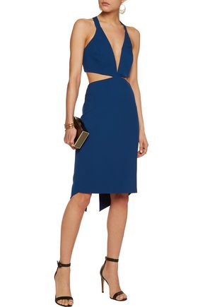 MICHELLE MASON Cutout cady dress