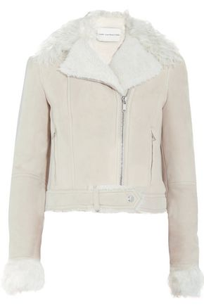 MARY KATRANTZOU Grace shearling jacket