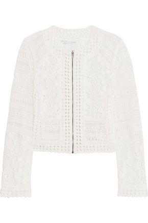 DIANE VON FURSTENBERG Arlette guipure lace jacket