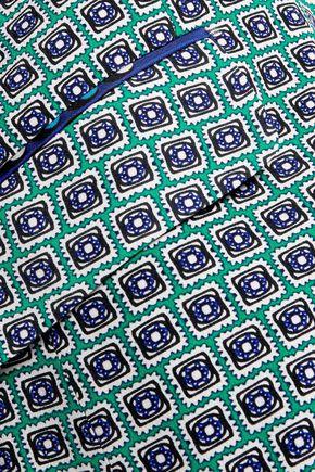 DIANE VON FURSTENBERG Roslyn printed crepe blazer