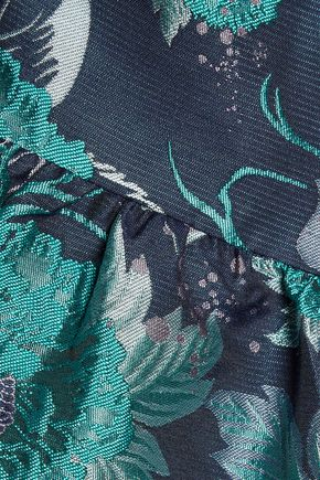 MIKAEL AGHAL Jacquard dress