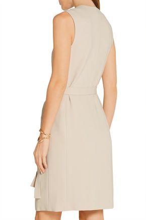 THEORY Livwilth crepe mini wrap dress