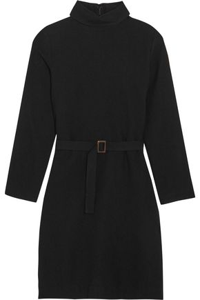 A.P.C. Belted wool-felt dress