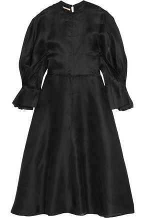 EMILIA WICKSTEAD Federica open-back silk-organza midi dress