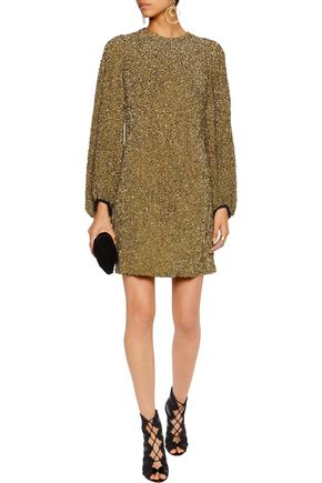 JENNY PACKHAM Embellished silk dress