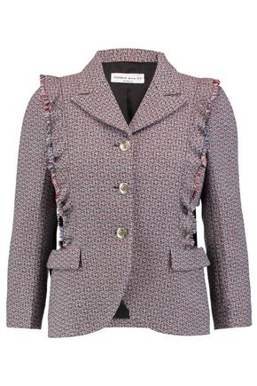 SONIA RYKIEL Wool-tweed blazer