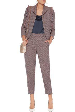 SONIA RYKIEL Ruffled wool blazer