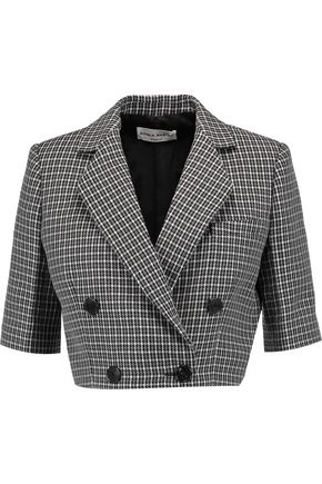 SONIA RYKIEL Cropped wool-tweed jacket