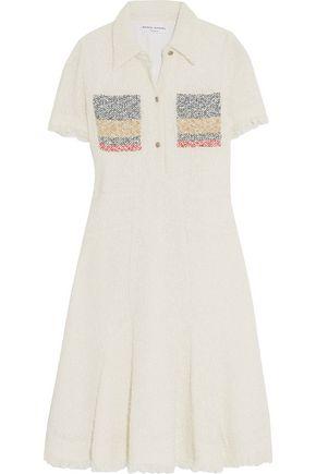 SONIA RYKIEL Tweed cotton-blend mini dress