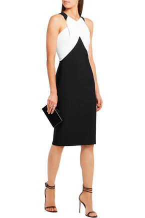 ROLAND MOURET Radnor stretch-jersey dress
