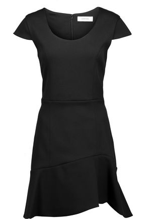 CARVEN Stretch-twill mini dress