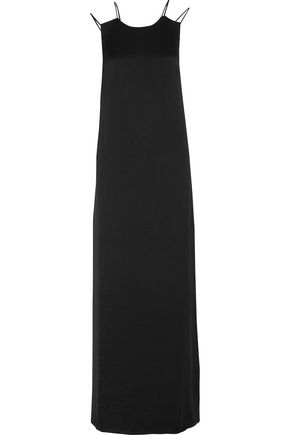 TOMAS MAIER Washed crepe de chine maxi dress