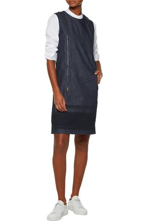 TOMAS MAIER Embellished denim dress