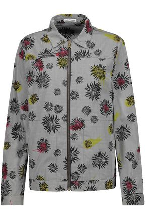 TOMAS MAIER Printed cotton-poplin jacket