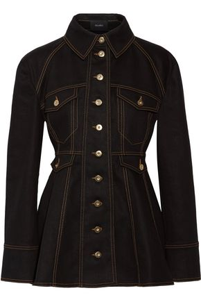 ELLERY Bonnie denim peplum jacket