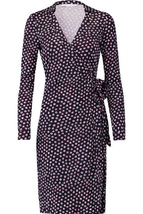 DIANE VON FURSTENBERG New Jeanne printed silk wrap dress