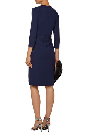 DIANE VON FURSTENBERG Leora gathered stretch-jersey dress