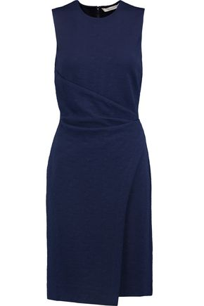 DIANE VON FURSTENBERG Melinnda draped jacquard-knit dress