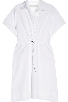 CHRISTOPHER KANE Cotton-blend poplin shirt dress