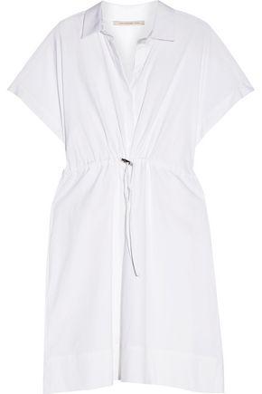 CHRISTOPHER KANE Cotton-blend poplin shirt dress