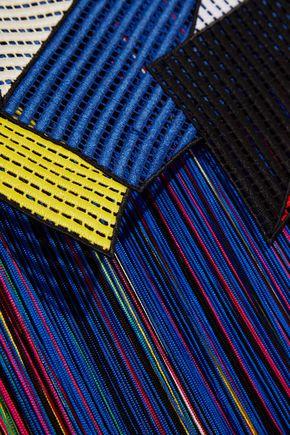 CHRISTOPHER KANE Fringed crocheted dress