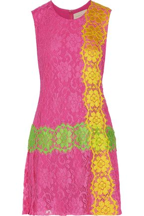 CHRISTOPHER KANE Lace mini dress