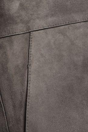 JIL SANDER Suede shorts