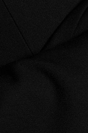 CINQ À SEPT Niara off-the-shoulder knitted mini dress