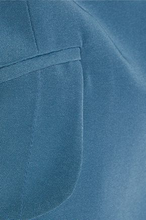 NINA RICCI Silk crepe de chine dress