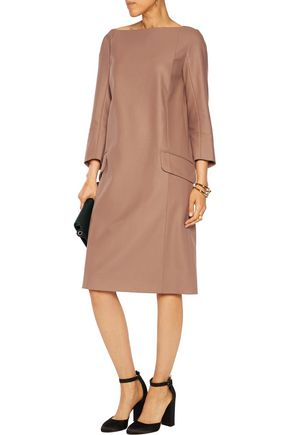 NINA RICCI Wool-blend felt dress