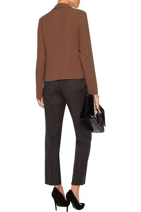 NINA RICCI Wool-blend twill jacket