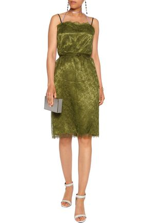 NINA RICCI Lace wrap dress