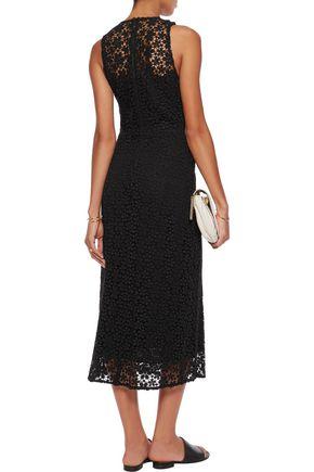A.L.C. Lace cotton midi dress