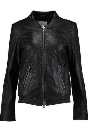 MUUBAA Leather bomber jacket