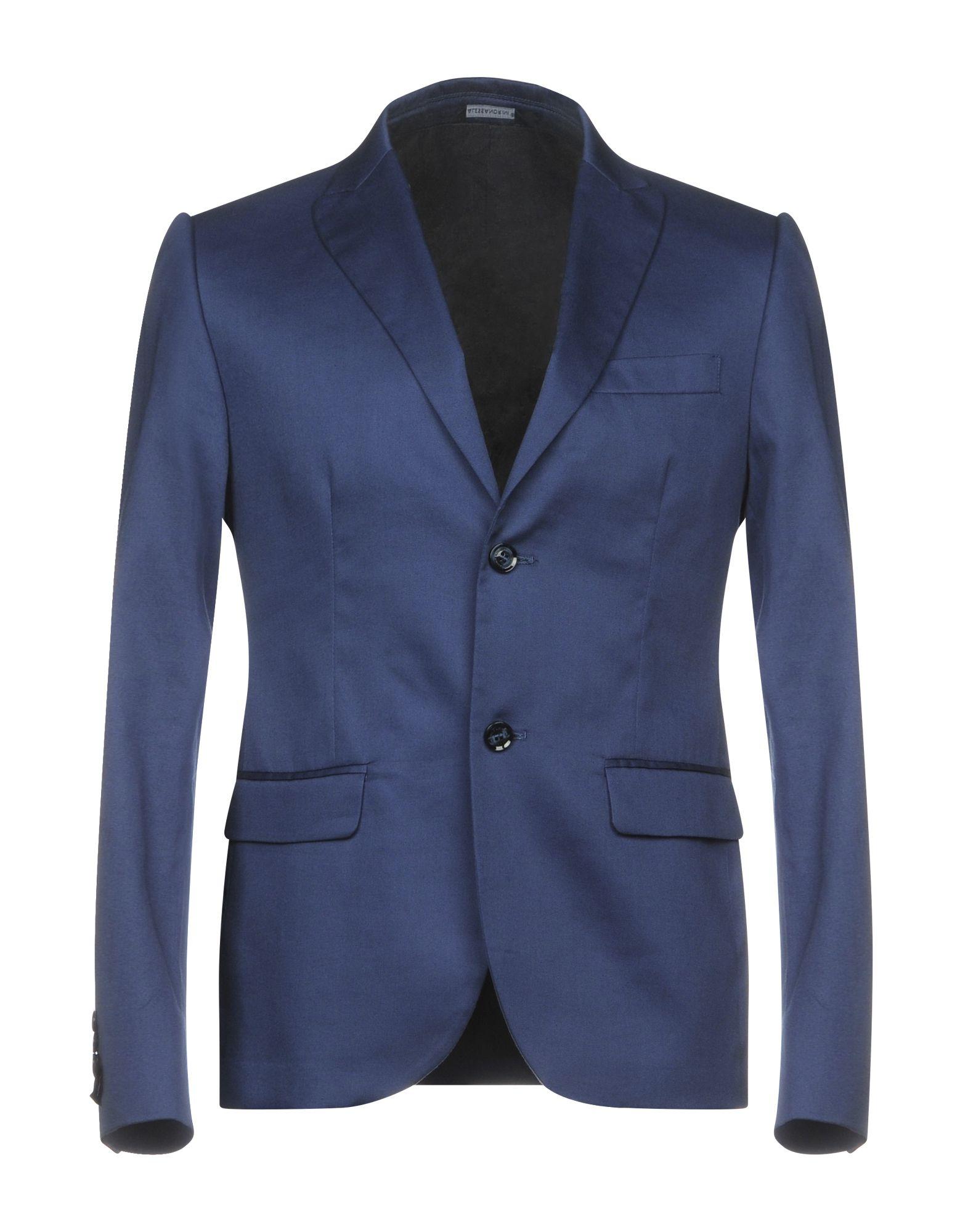 GREY DANIELE ALESSANDRINI Blazers in Blue